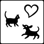 animali di piccola taglia ammessi su richiesta